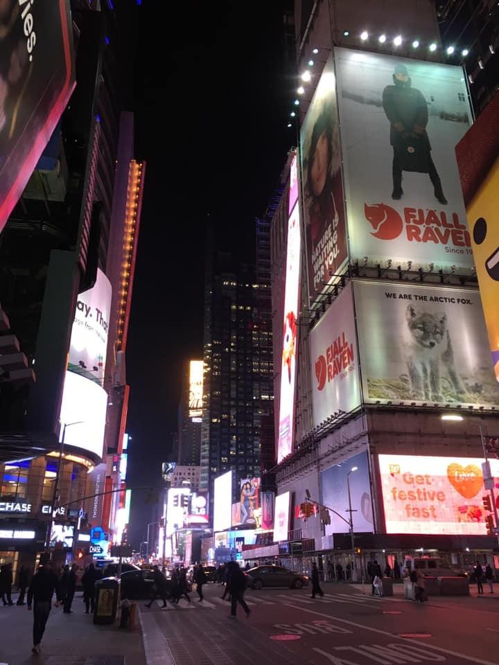 voyage New York 2019